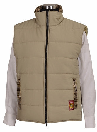 Baker Ladies Country Quilted Vest - The Houndstooth Horse  - 1