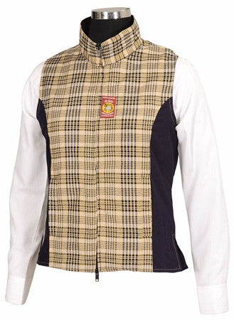 Baker Ladies Select Vest - The Houndstooth Horse  - 1