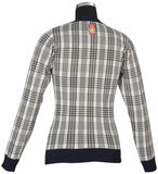 Baker Ladies Plaid Sweater - The Houndstooth Horse  - 4