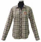 Baker Ladies Plaid Long Sleeve Shirt - The Houndstooth Horse  - 1