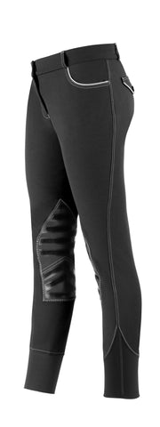 Lara Knee Patch Breech by USG - The Houndstooth Horse  - 2