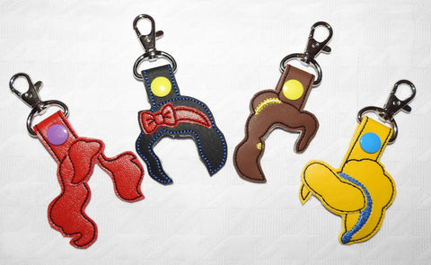 Disney Princess Hair Key Chain