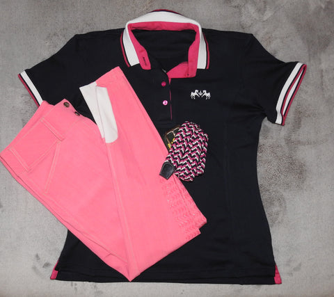 Exclusive Outfit - Neon Pink & Navy