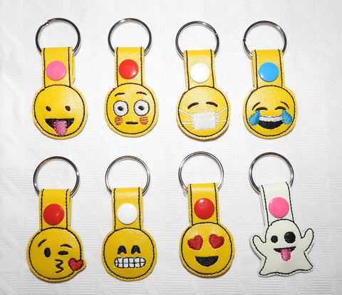 Emoji Face Key Chain