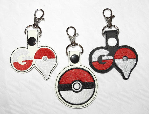 Pokemon GO Pokeball Key Chain