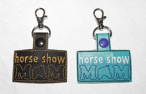 Horse Show Mom Key Chain