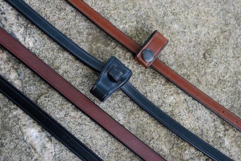 Red Barn Leather Flash Strap