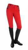 Boston Silicone Knee Patch Kids Winter Breeches