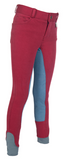 Red & Blue Contrast Kids Full Seat Breech