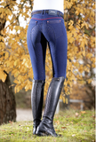 Performance Jeggings Silicone Kids Full Seat Breeches