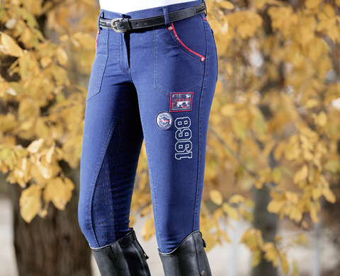 Performance Jeggings Silicone Full Seat Breeches