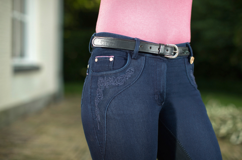 Queen Jeggings Denim Full Seat Breech