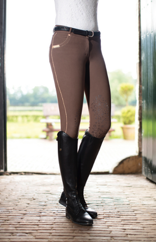 Queen Piping Limited Silicone Knee Patch Breech