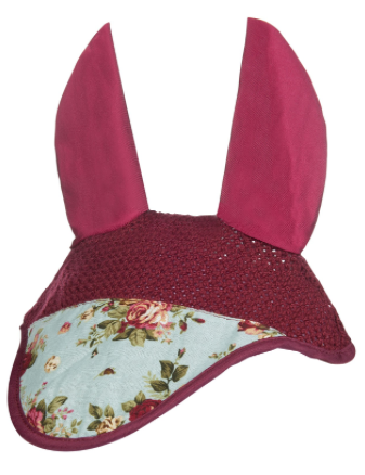 HKM Floral Fly Bonnet - Rose Flower