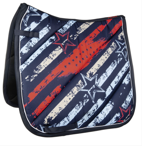 HKM County Flag Saddle Pad