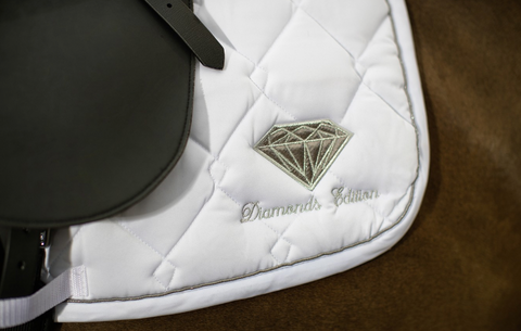 HKM Diamonds Saddle Pad