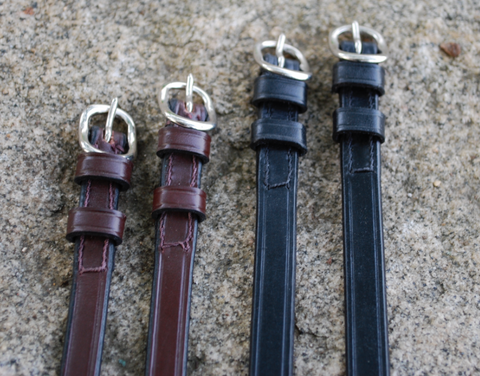Red Barn Black or Brown Spur Straps