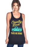 """Country Roads Take Me Home"" Tank Top"