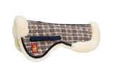 Baker Sheepskin Half Pad - The Houndstooth Horse  - 1