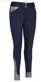 Baker Ladies Pro Breeches - The Houndstooth Horse  - 1