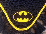 Batman Embroidered Fly Bonnet - The Houndstooth Horse  - 5