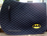 Batman Saddle Pad - The Houndstooth Horse  - 2