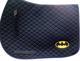 Batman Saddle Pad - The Houndstooth Horse  - 1