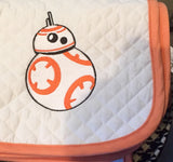 Star Wars Embroidered Baby Pad - The Houndstooth Horse  - 4