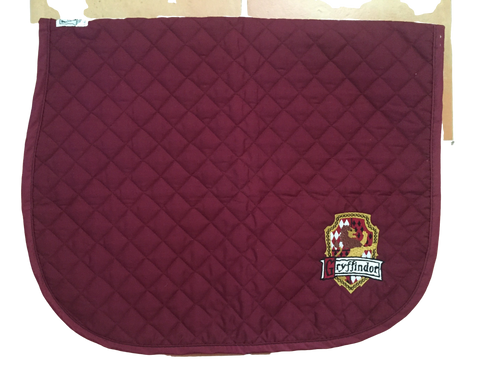 Harry Potter Gryffindor crest & house motto baby pad