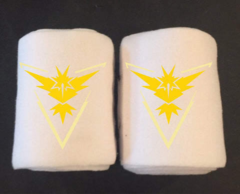 Pokemon GO Embroidered Polo Wraps - Team Instinct - The Houndstooth Horse