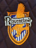 Harry Potter Ravenclaw House Crest Embroidered Saddle Pad - The Houndstooth Horse  - 1