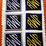 "Custom Embroidered Diamond Monogram Patch *set of two* 2x2"" - The Houndstooth Horse  - 2"