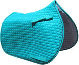Shield Monogram Embroidered Saddle Pad - The Houndstooth Horse  - 4