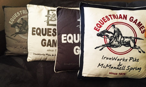 Equestrian Themed Pillows - Full Collection