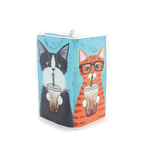 Caffeine Addicted Kitties Wallet