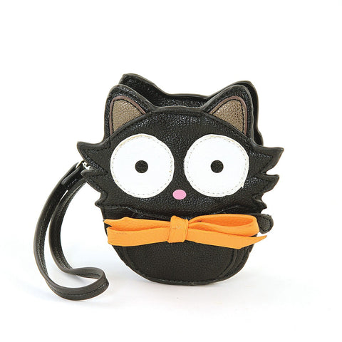 Black Cat Zippered Coin Purse
