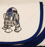 Star Wars Embroidered Baby Pad - The Houndstooth Horse  - 2