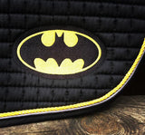 Ultimate Batman Logo Embroidered Saddle Pad - The Houndstooth Horse  - 2
