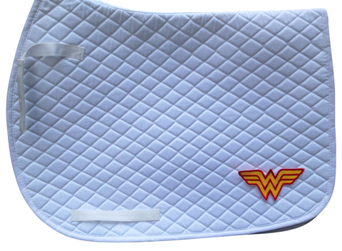 Wonder Woman Saddle Pad - The Houndstooth Horse  - 1