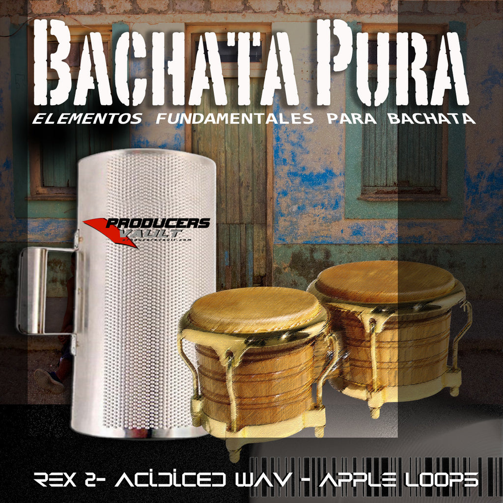 Bachata Pura vol 1 (Loops and Samples)