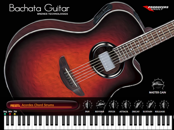 Bachata Guitar VSTi 2.0 (Windows VST)