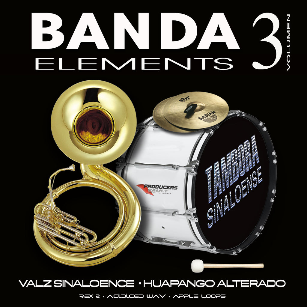 Banda Elements Vol 3 (Valseado Sinaloense y Huapango Alterado)