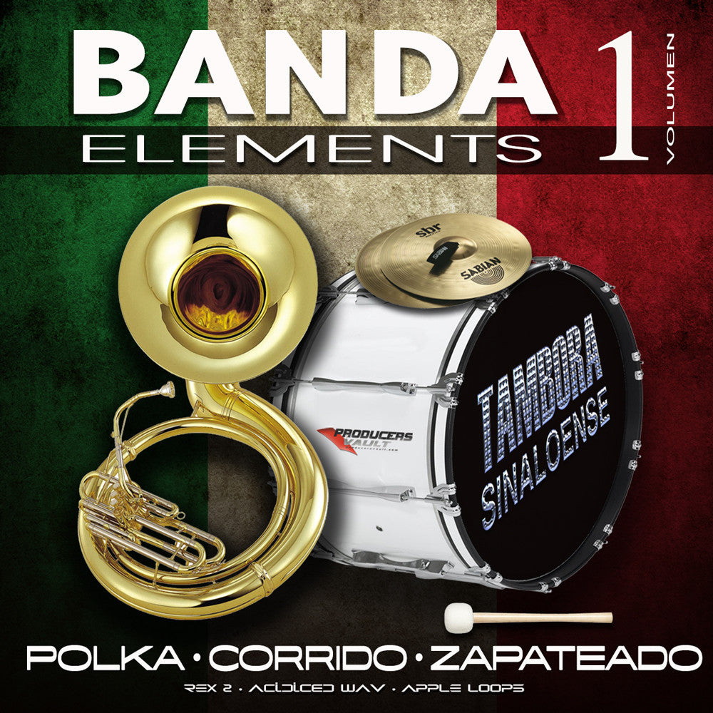 Banda Elements Vol 1 (Polka, Corrido, Zapateado)