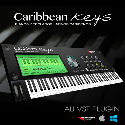 Caribbean Keys 2.0 (WINDOWS Plugin VST) Teclados Latinos