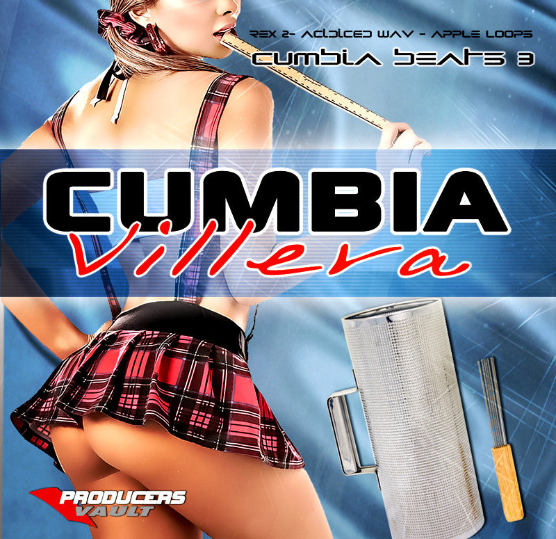 Cumbia Villera (Loops y Samples) Cumbia Beats Vol 3