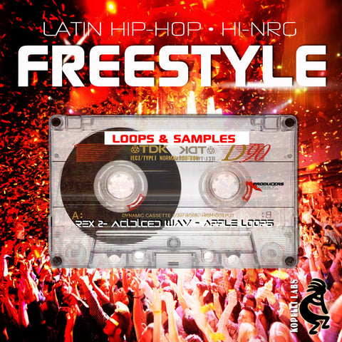 Freestyle: Hi NRG Latin Hip Hop Loops & Samples