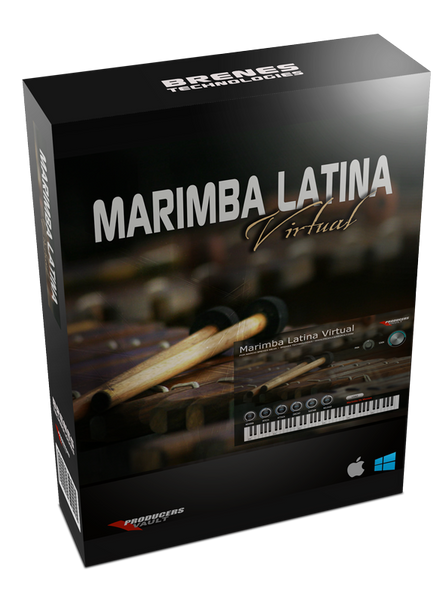 Marimba Latina Virtual 2.0 (MAC Plugin VST & AU)