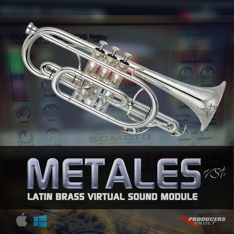 METALES VSTi 1.1 Latin Brass Virtual Sound Module for WINDOWS