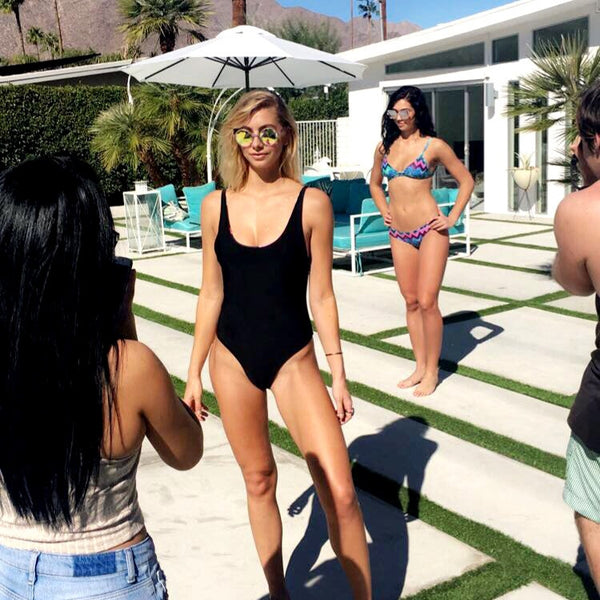 Behind the Scenes of our Bikini Photo Shoot!
