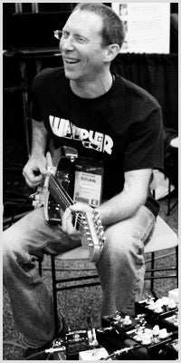 Brian Wampler,CEO of Wampler Pedals, Inc.